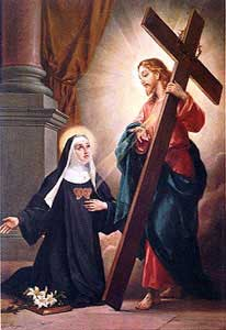 st.Clare of Montefalco-Abbess and mystic