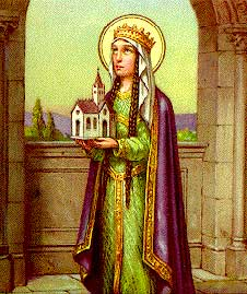 st.Clotilde-Queen of the Franks