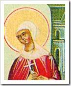 st.Crispina-Noblewoman and martyr, acclaimed by St. Augustine