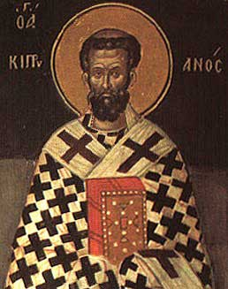 st.Cyprian of Carthage-Bishop of Carthage, Father of the Church, martyr