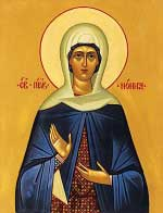 st.Gorgonia-Daughter of SS. Gregory of Nazianzus and Nonna, sister of SS. Gregory of Nazianzus the Younger and Caesarius