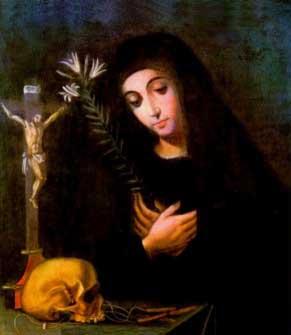 st.Mariana of Quito (Mariana de Jesús de Quito)