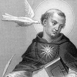 st.Thomas Aquinas-Dominican, scholar, Doctor of the Church