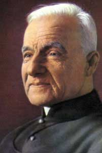 st.Brother Andre, Blessed-Beatified brother of the Holy Cross Brothers, renowned healer and founder of St. Joseph's Oratory in Montreal