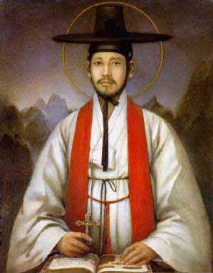 st.Andrew Kim Taegon-One of the Korean Martyrs