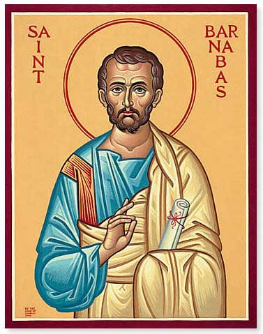 st.Barnabas-Apostle, martyr and patron of St. Paul