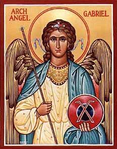 st.Gabriel the Archangel-Name meaning-Hero of God -the mighty one- or _God has shown himself mighty_in Hebrew