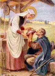 st.Zita-Servant renowned for her charity and miracles