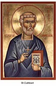 st.Cuthbert-Monk, bishop and miracleworker