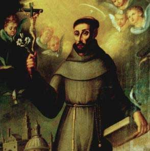 st.Francis Solanus-Franciscan missionary in Peru