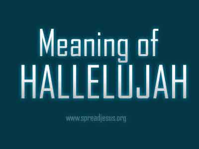 Meaning Of Hallelujah